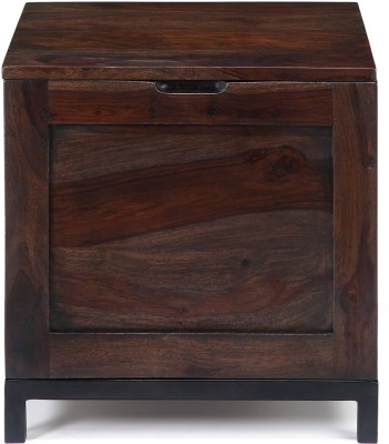 Ringabell Solid Wood Side Table(Finish Color - Walnut)
