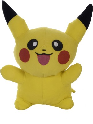 Aarushi Soft toy Pokemon Pikachu   28 cm Yellow Aarushi Soft Toys