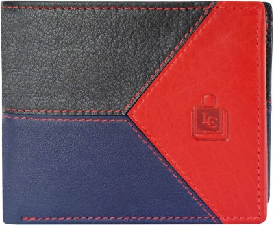 Le Craf Men Multicolor Genuine Leather Wallet 4 Card Slots Le Craf Wallets
