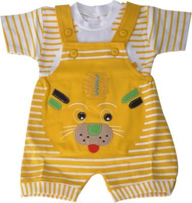 RISHAN Baby Boy's Yellow Bodysuit