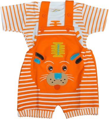 RISHAN Baby Boy's Orange Bodysuit