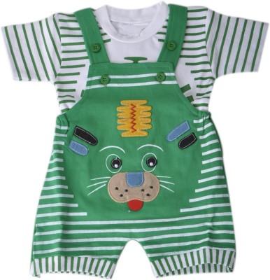 RISHAN Baby Boy's Green Bodysuit