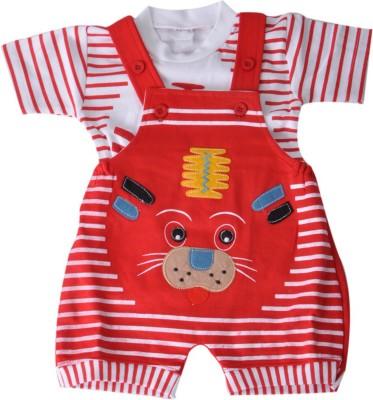RISHAN Baby Boy's Red Bodysuit