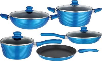 NIRLON Forged Cookware Tawa, Pan, Kadhai, Pot, Pan Set(PTFE (Non-stick), Non-stick) at flipkart