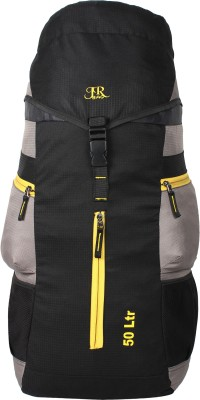 J R Bags Ranger 50 Liters Top Load Rucksack  - 50 L(Grey) at flipkart