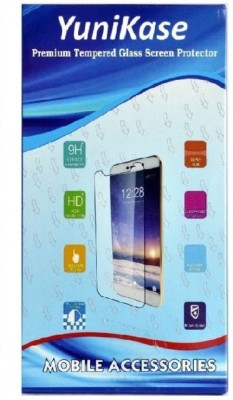 YuniKase Tempered Glass Guard for Micromax A117 Canvas Magnus ( Super saver Pack of 3 )