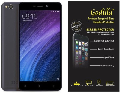 GODILLA Tempered Glass Guard for Mi Redmi 4A(Pack of 1) at flipkart