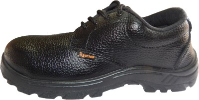 AGARSON SAFETY SHOES Outdoors Black Best Price in India  cfbf4413c