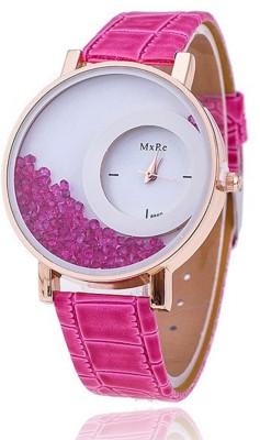 MxRe Stylist Diamond Analogue pink Colour Women
