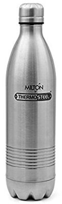 Milton duo dlx 1000 ml Bottle(Pack of 1, Silver) at flipkart