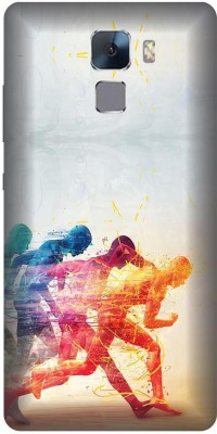 Digi Fashion Back Cover for Honor 7(Multicolor)