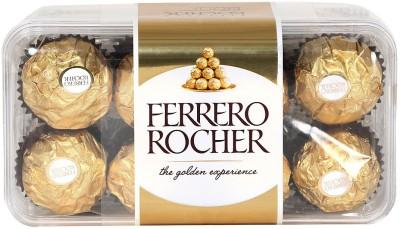 Ferrero Rocher 16 Pcs Smoothly Melts Chocolate Truffles(200 g)