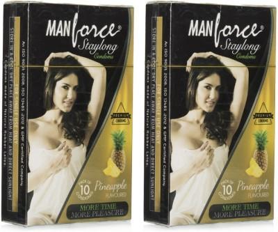 Manforce Staylong Pineapple Condom (20 Condoms)
