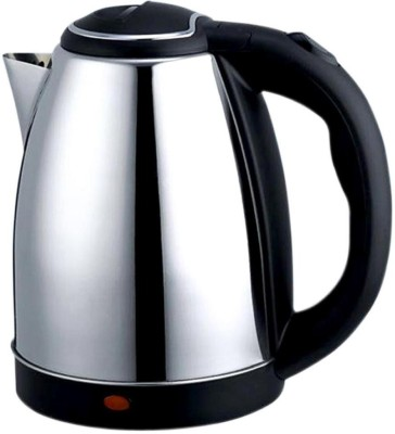 Spella Global Electric Kettle(1.8 L, Silver, Black)  available at flipkart for Rs.450
