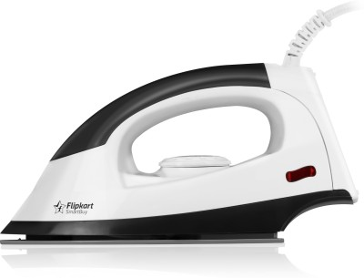 Operating at a powerful 1000 W, this Flipkart SmartBuy dry iron is designed for quick and easy ironing to give your clothes the perfect crisp and creaseless finish. Equipped with a non-stick Teflon coated soleplate this dry iron glides smoothly over all types of fabric without pulling or wrinkling them. The unit has a smart thermostatic control that allows you to set the temperature best suited to the fabric you're ironing.