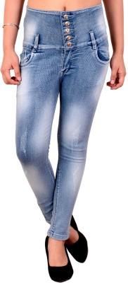 Fck-3 Slim Women Light Blue Jeans
