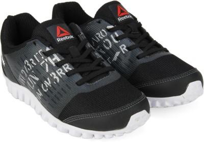 REEBOK Boys Lace Running Shoes(Black)