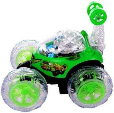Chanderkash Ben 10 Stunt Car for kids(Multicolor)