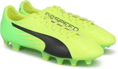 57% OFF on Puma evoSPEED 17.4 FG Football Shoes For Men(Yellow) on Flipkart   5f31fea3e