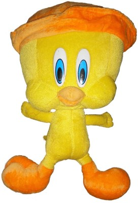 KAYKON Cute Tweety Stuffed Plush Toys Premium Quality Fabric   30 cm Yellow KAYKON Soft Toys