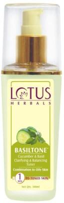Lotus Herbals Clarifying & Balancing Toner Basiltone - (100ml)