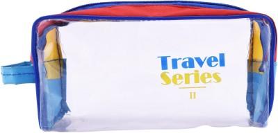 PSH Spacious Travel Shaving Bag White