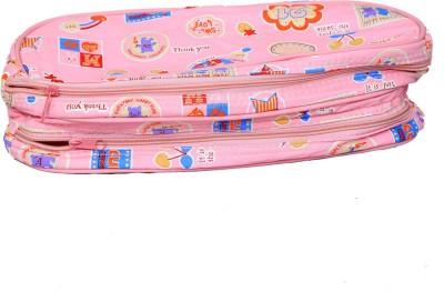 Kuber Industries Travel Organiser,Toiletry Bag,Multi Purpose Kit In Imported Material  Waterproof  Travel Toiletry Kit Pink