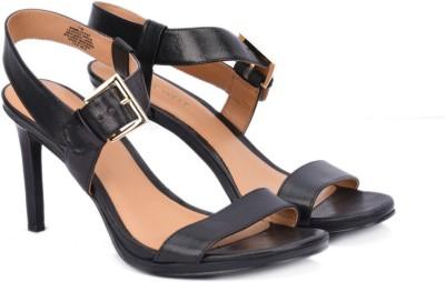 Nine West NWMILLICENT Women Black Heels at flipkart