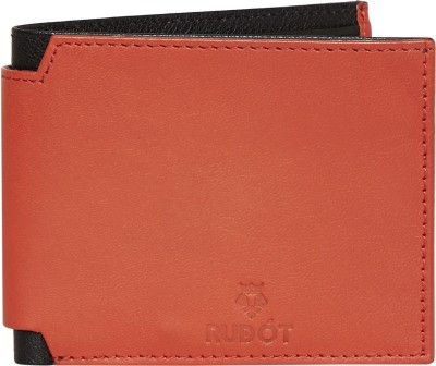 Rudot Men Red Genuine Leather Wallet(8 Card Slots) at flipkart