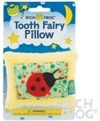 Rich Frog Ladybug Tooth Fairy Pillow Bath Toy(Multicolor)