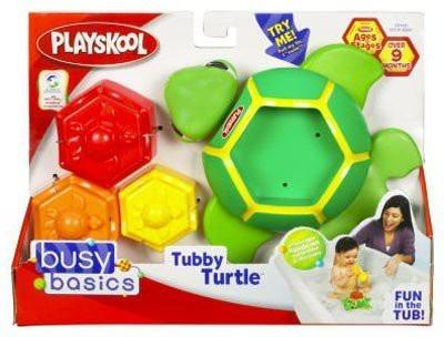 Playskool Tubby Turtle Busy Basics Bath Toy(Multicolor)
