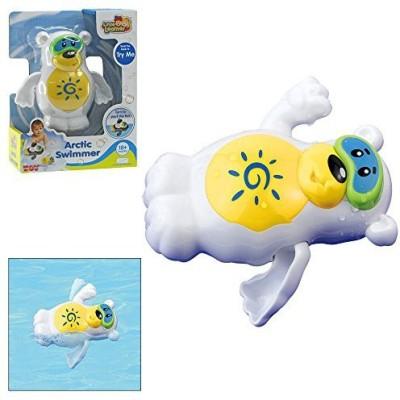 Happykid Toy Group Polar Bear Arctic Swimmer Bath Toy(Multicolor)