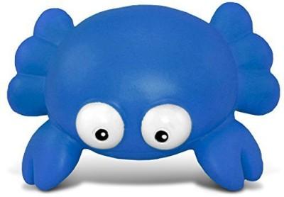 Puzzled Blue Crab Bath Buddy Squirter Blue 3 Inch Bath Toy(Blue)