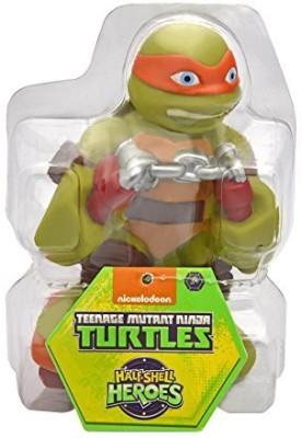 Teenage Mutant Ninja Turtles Pre-Cool Half Shell Heroes Michelangelo Bathtub Squirter Figure Action Figure Bath Toy(Multicolor)
