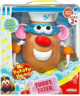 Playskool Mr. Potato Head Bath Time Spud - Tubby Tater Bath Toy(Multicolor)
