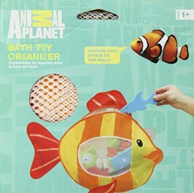 Animal Planet Bath Toy Organizer, Fish Bath Toy(Multicolor)