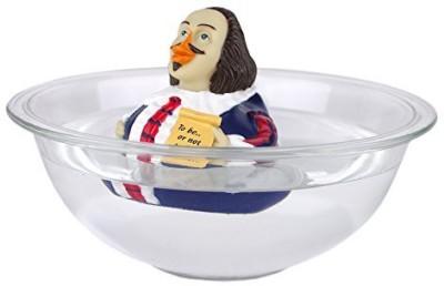 CelebriDucks William Shakespeare Rubber Duck Bath Toy(Multicolor)