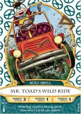 Sorcerers Mask of the Magic Kingdom Game, Walt Disney World - Card #50 - Mr. Toad'S Wild Ride(Multicolor)  available at flipkart for Rs.715