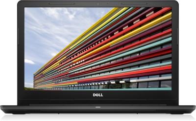 Dell Inspiron APU Dual Core A6 7th Gen - (4 GB/500 GB HDD/Ubuntu) 3565 Laptop(15.6 inch, Black)