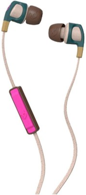 Skullcandy S2PGJY-537 Smokin Buds 2 Headphones(Pink, In the Ear)