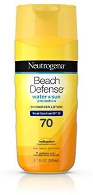 Neutrogena SPF 70 Beach Defense Sunscreen Body Lotion (6.7Oz)