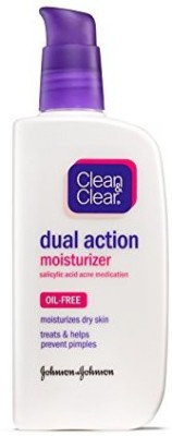 Clean and Clear Oil-Free Dual Action Moisturizer 120ml