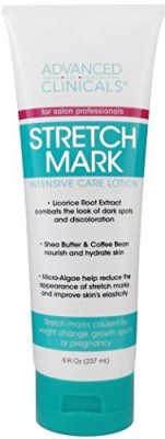 Advanced Clinicals Stretch Mark Lotion Moisturizing Cream For Scars, Extreme Weight Loss, Pregnancy Tube(237 ml)  available at flipkart for Rs.1949