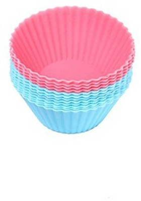 Futaba Mini Silicone - Cup Cupcake/Muffin Mould(Pack of 12) at flipkart