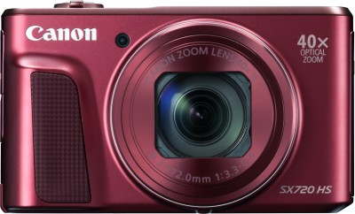Canon Powershot SX720 HS Point and Shoot Camera(20.3 MP, 40x Optical Zoom, 80x Digital Zoom, Red) 1