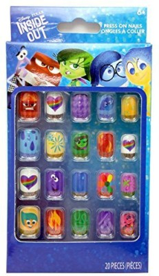 Disney Inside Out Press On Nail Gift Set  Combo Set(Set of 20)