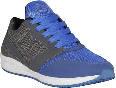 Aero Aspire Running Shoes For Men(Blue, Yellow)