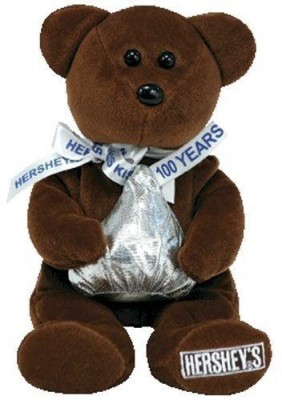 Ty Beanie Baby - Cocoa Bean The Hershey Bear (Wal'S Exclusive) By  - 2.9 inch(Multicolor)  available at flipkart for Rs.4507