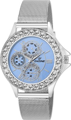 Dezine DZ-LR096-BLU-CH  Analog Watch For Unisex