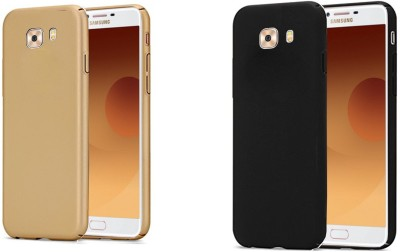 Spicesun Back Cover for Samsung Galaxy C9 Pro(Gold, black)